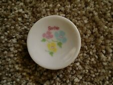 Barbie Kelly China dish replacement plate Strombecker 6+