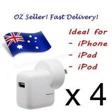 4 x AC Wall Charger for Apple iPhone, iPad & iPod