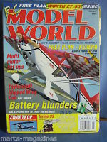 "RCMW RC MODEL WORLD JANUARY 2003 47"" SPORT KERERU PLAN ZWARTKOP IRVINE 39 REVIEW"