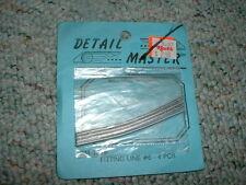 Detail Master  HO Fitting Line #6 four pieces  E108