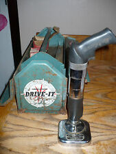 Powder Power Tool Corp' Drive-It 330 Nail Driver Concrete Vintage Rare