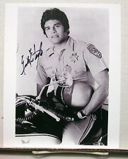 Erik Estrada/CHiPs TV Autograph 8X10 Photo #3