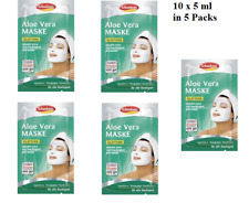 Schaebens moisturizing Aloe Vera mask - 5 Packs for 10 applications New