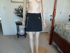 New Armani Exchange Back Mini A Line Skirt Size 6