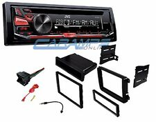 NEW JVC CAR STEREO RADIO RECEIVER DECK WITH INSTALLATION KIT FOR VOLKSWAGEN