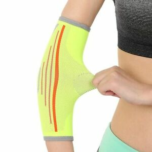 Elastic Elbow Pads Men Women Arm Sleeve Basketball Breathable Elbows Protector