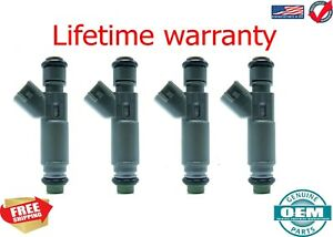 X4 OEM Denso Fuel Injectors SATURN Vue 2006 - 2007 2.2 2.4 USA 12582704