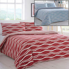Polycotton Geometric Bedding Sets & Duvet Covers