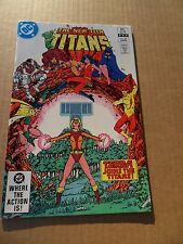 New Teen Titans   30 . Terra Joins Titans - DC 1983 -    VF / NM