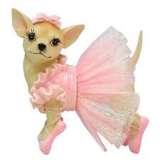 Aye Chihuahua Ballerina Pink Tutu Dog Figurine 13327 Westland Retired
