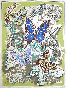 "Kopetz, Vera/1910St. Petersburg-1998Ückeritz/""Schmetterlinge""8-Farben-Serigrafie"