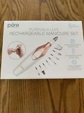 Pure Enrichment Purenails Luxe Rechargeable Manicure Set