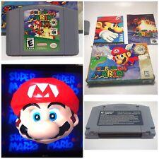 Super Mario 64 Original BOX AND MANUALS Nintendo 64 N64 Game - *WORKS*