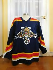 Center Ice Authentic Starter Florida Panthers Sewn Jersey Size 52-R