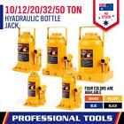 10-50 Ton Heavy Duty Hydraulic Bottle Jack Car Lifter Caravan 4WD 4-Colours New