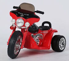 Xmas Kids Ride on Motorbike Motorcycle Harley Style Police Car Toy Electric