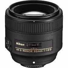 Nikon AF-S Nikkor 85mm f1.8 G Lens AFS 85/1.8 (2201)