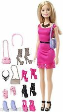 Barbie Doll Life in the Dreamhouse Fashionistas W/ Shoes & Accessories Giftset