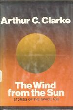 Wind From The Sun Arthur C Clark Ex-Lib Hardcover 1972 Space Age Short Stories