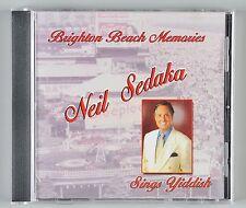 Neil Sedaka Brighton Beach Memories CD Sedaka Sings Yiddish NS 100 2003
