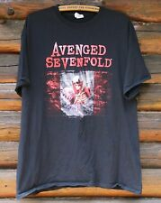 Avenged Sevenfold 2018 Canada Canadian Rock Band Tour T-Shirt Adult Size XL +
