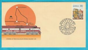 Adelaide to Crystal Brook Standard Gauge Railway Souvenir Cover 1982