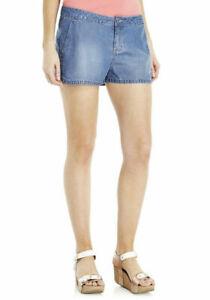 Runner style shorts in denim  - size UK12
