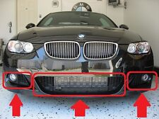 BMW 3 SERIES E92 E93 M SPORT 07-11 GENUINE FRONT BUMPER LOWER GRILL MESH SET
