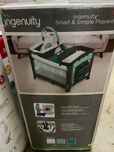 Ingenuity Smart & Simple Packable Portable Playard w/ Changing Table - Ridgedale