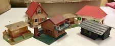 FALLER HO lot 6 petites maisons bungalows ville bâtiment train décor village