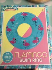 Flamingo Swim Ring New In Box