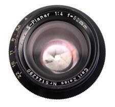 Carl Zeiss 60mm f4 S-Planar  #5144290