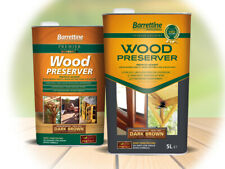 Barrettine Wood Preserver Treatment 5 Litres, FREE NEXT DAY DPD EXPRESS DELIVERY