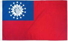 3x5 Myanmar Burma 1974-2010 Socialist Republic Flag 3'x5' Banner Brass Grommets