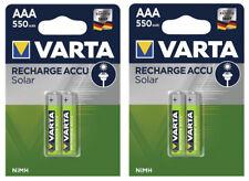 4x VARTA Batteries AAA Micro 550 MAH For Siemens Gigaset C43A A415A E500H Phone