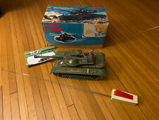 Radicon Tank Vintage Toy Radio Control Army Tank