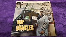 RAY CHARLES – Take These Chains From My Heart EP 1962 HMV 7EG 8812 UK pic slv