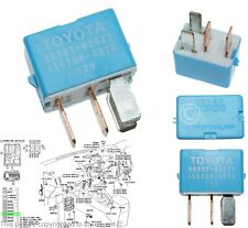 90987-02027 Toyota & Lexus 4-Pin Blue A/C Cooling Fan Relay Denso 156700-2870