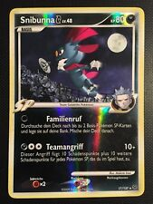 Pokemon!! Snibunna G Platin 17/127! Reverse Holo Rare! Near Mint! DE!