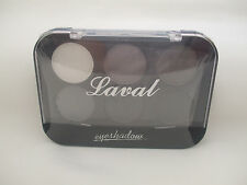 Laval Eyeshadows Palette Grey Collection 6 Colours New
