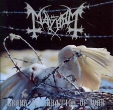 Mayhem Grand Declaration of War Re Release Incl Bonus C 2 CD