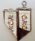 """VINTAGE 39"""" BELL PULL TAPESTRY VERY WELL MADE"""
