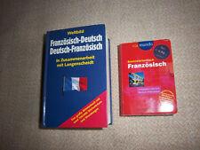 2 Wörterbücher Französch-Deutsch  Deutsch-Französisch Weltbild und via mundo