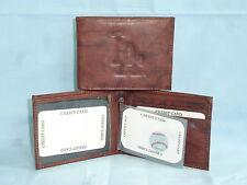 LOS ANGELES DODGERS   Leather BiFold Wallet    NEW   dkb 4 mz flw