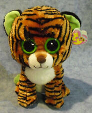 Ty Stripes Buddy Beanie Boos 7136911 Soft Toy Tiger Large 21.5 Cm