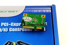 Mini PCI-Express to SATA iii 3.0 2 Port RAID Controller Adapter Card Support 6Gb