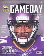 Minnesota Vikings Arizona Cardinals 8/16/14 NFL Game Program...Captain Munnerlyn