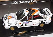 1/18 Audi Quattro A2  Clarion  Lombard RAC Rally 1985  P.Eklund/B.Cederberg