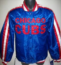 CHICAGO CUBS MLB STARTER Snap Down Jacket Fall 2019 BLUE/RED
