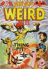 Blue Bolt Weird Tales 117 Comic Book Cover Art Giclee Reproduction on Canvas